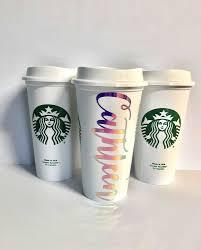 Starbucks Unicorn Lemonade Inspirational Personalized Cups Holographic Christmas T