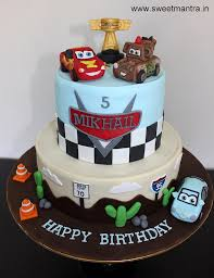 Disney Pixar Cars Lightning McQueen theme customized designer 2