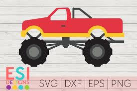 100 Monster Truck Kids SVG SVG SVG DXF EPS PNG