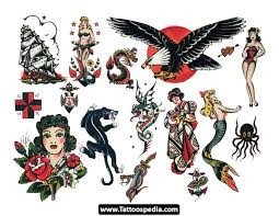 Sailor Jerry Ship Eagle And Mermaid Tattoo Designs In 2017 Real Photo Pictures Images Sketches Collections