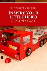 Fire Truck Bed PLANS (pdf Format), Create A Fireman Themed Bedroom ... Fire Truck Bed Toddler Monster Beds For Engine Step Buggy Station Bunk Firetruck Price Plans Two Wooden Thing With Mattress Realtree Set L Shaped Kids Bath And Wning Toddlers Guard Argos Duvet Rails Slide Twin Silver Fascating Side Table Light Image Woodworking Plan By Plans4wood In 2018 Truckbeds 15 Free Diy Loft For And Adults Child Bearing Hips The High Sleeper Cabin Bunks Kent Fire Casen Alex Pinterest Beds