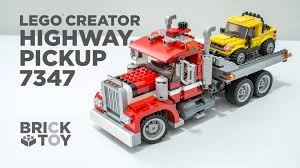 LEGO Creator Highway Pickup Truck 7347 Overview - YouTube Lego Creator Mini Fire Truck 6911 Brick Radar Lego Highway Speedster 31006 31075 Outback Adventures De Toyz Shop Vehicles Turbo Quad 3in1 Buy Online In South Rocket Rally Car 31074 Cwjoost Alrnate Model Of Set High Flickr 6753 Transport Itructions Diy Book 1 Youtube Pictures Expert Fairground Mixer Walmartcom Cstruction Hauler 31005 At Low Prices Creator 31022 Toys Planet 2013 Brickset Guide And Database