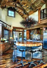 Rustic Ranch Decor House In Opens To The Mountains Decorating Ideas