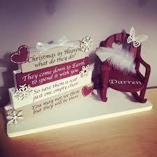 Christmas In Heaven Plaque