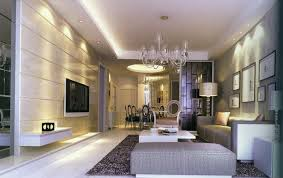 modern living room and dining room lighting ideas interior design