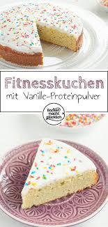 kalorienarmer proteinkuchen