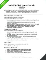 Marketing Coordinator Resume Summary Example Of Digital Examples Social Media Manager Objectives