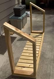 woodwork outdoor firewood storage box plans pdf plans
