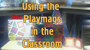 Magna Tiles Amazon Uk by Using The New Playmags Magnet Tiles In The Classroom Youtube