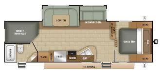Fifth Wheel Bunkhouse Floor Plans by Bunkhouses Starcraft Rv