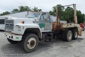 100 Heavy Duty Truck Auction 1992 Ford FT900 Lugger Truck Item K7615 SOLD June 22 Co