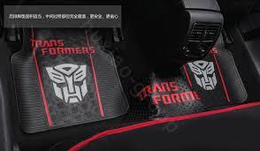 Cute Car Floor Mats by Buy Wholesale Transformers Universal Automobile Carpet Car Floor
