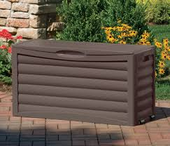Suncast 50 Gallon Deck Boxstorage Bench by Suncast Patio Storage Box
