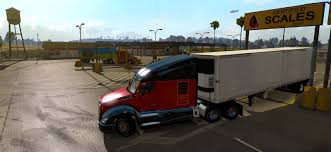100 Trucking Simulator SCS Softwares Blog Weigh Stations New Feature In American Truck
