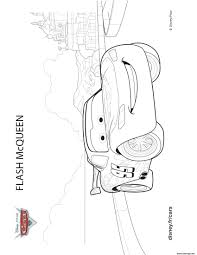 Coloriage Lightning Mcqueen And Sally From Cars 3 Disney Dessin Like