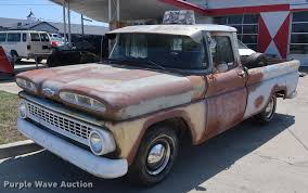 100 1963 Chevrolet Truck C10 Pickup Truck Item EL9293 SOLD May 2