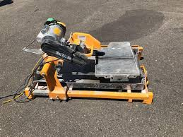 Husky Wet Tile Saw whiteford contractors post hole digger generator tile saw