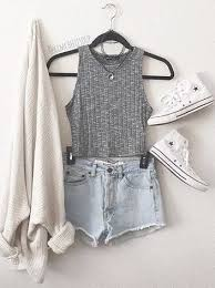 Buy Adidas Tumblr Outfits Cream Cardigan Summer Fashion Trends 36 47