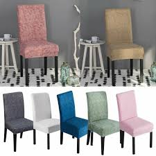 Details About NEW Stretch Dining Chair Covers Chair Protector Slipcover  Wedding Decor Spandex Christmas Decoration Chair Covers Ding Seat Sleapcovers Tree Home Party Decor Couch Slip Wedding Table Linens From Waxiaofeng806 542 Details About Stretch Spandex Slipcover Room Banquet Dcor Cover Universal Space Makeover 2 Pc In 2019 Garden Slipcovers Whosale Black White For Hotel Linen Sofa Seater Protector Washable Tulle Ideas Chair Ab Crew Fabric For Restaurant Usehigh Backpurple