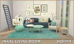 pqsims4 inkal livingroom sims 4 downloads möbel