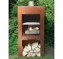modele de barbecue exterieur foyer barbecue socorten