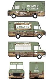 BOWLZ By Create- Food Truck Design By Toenio R. At Coroflot.com