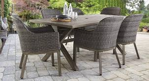Dining Room Pool Table Combo Canada by Chic Outdoor Dining Table Chairs Room Patio Tables And Rattan