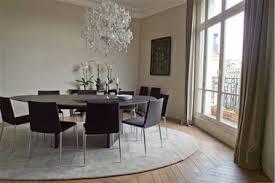 rideaux salle a manger salle a manger design peinture gris meuble noir rideaux taupe