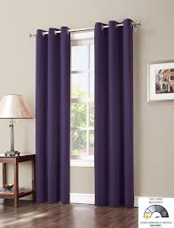 Eclipse Thermalayer Curtains Grommet by Amazon Com Sun Zero Easton Blackout Energy Efficient Curtain