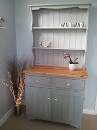 Shabby Chic Dining Room Hutch by Upcycled Shabby Chic Welsh Dresser Painted In Annie Sloan U0027s