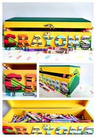 Need A Place To Store All Those Crayons Then Check Out This Fun DIY Which