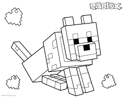 Roblox Coloring Pages Dantdm