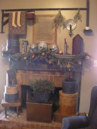 Primitive Decorating Ideas For Fireplace by 136 Best Hearths Of Primitive Homes Images On Pinterest