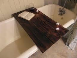 Teak Wood Bathtub Caddy by Bathtub Caddy Foter