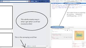 Google Chrome - Horizontal Scroll Bar In Facebook News Feed ... Chromes Experimental Chrome Home Interface Now Has Bottom Tabs Loses Focus When I Click On Any Area Outside The Webpage 6 Sufire Ways To Speed Up Google Nexus Gadget Hacks Docs The Document Toolbar And Menu Bars Youtube How Change Default Web Browser Your Mac Bootstrap Top Bar Wikiwebdircom 62 Revamps Ui Enables New Web Features View Your Saved Passwords Google Chrome My Friend Custom Tabs Incognito Aspgers Autism Forum