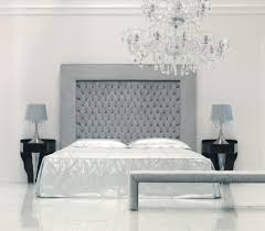 Black Leather Headboard With Crystals by Interior Full Size Black Modern Leather Platform Bed Yellow Wall