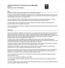 Sample Resume Account Executive Relationship Manager Job Description Sales Cv Advertising Managers Regional
