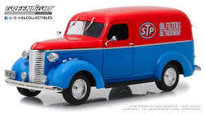 100 1959 Chevy Panel Truck GreenLight 124 Running On Empty 1939 Chevrolet STP