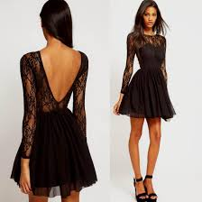classy black cocktail dress naf dresses