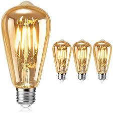 edison vintage glühbirne tonitott edison led glühbirne warm licht e27 4w vintage antike glühbirne retro filament le für nostalgie und retro