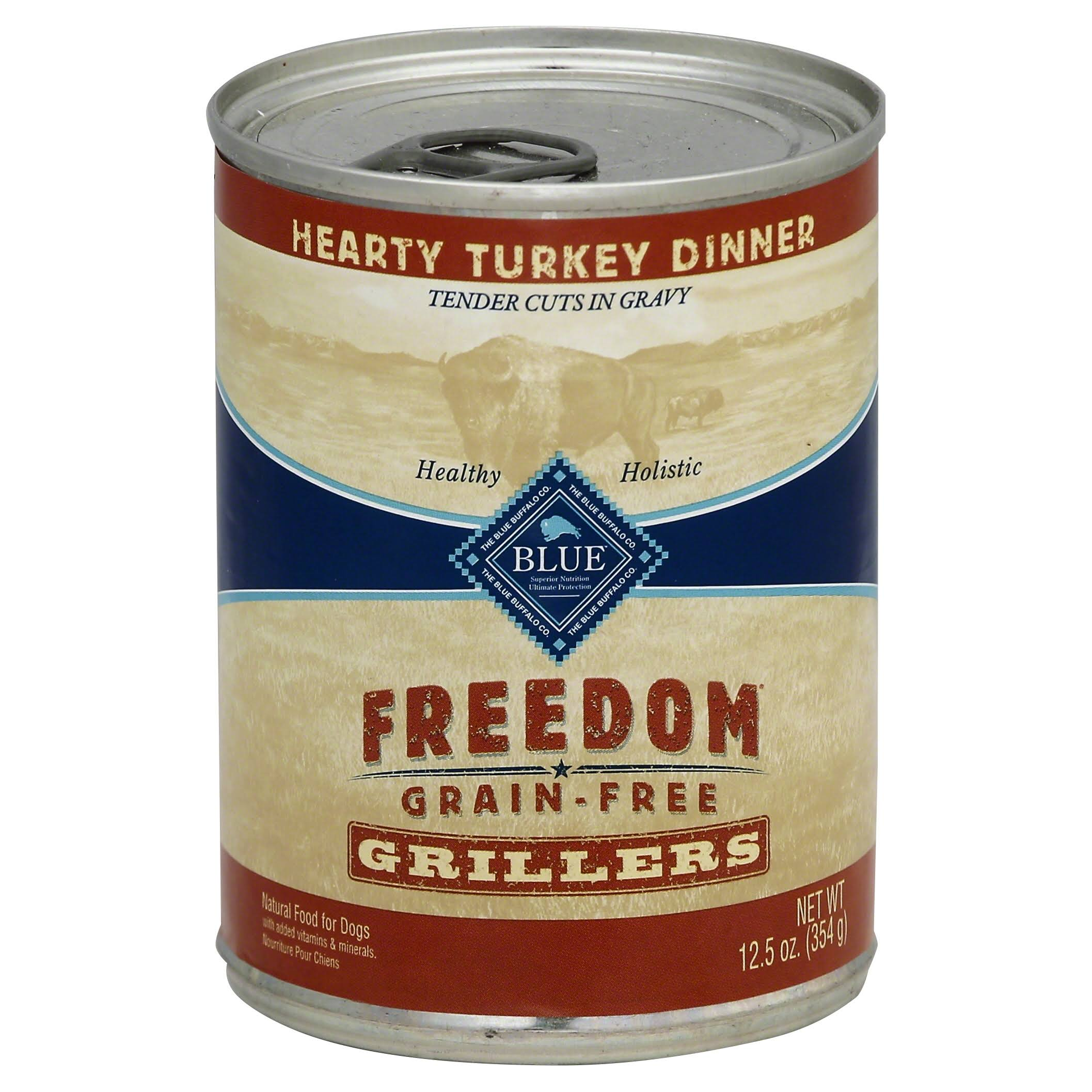 Blue Buffalo Freedom Grain Grillers Dog Food - Turkey, 12.5oz