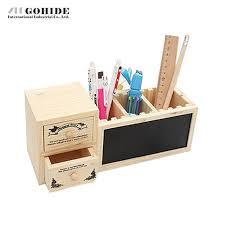 rangement stylo bureau guh 1 pcs boîte de rangement de bureau 4 grid avec tiroir