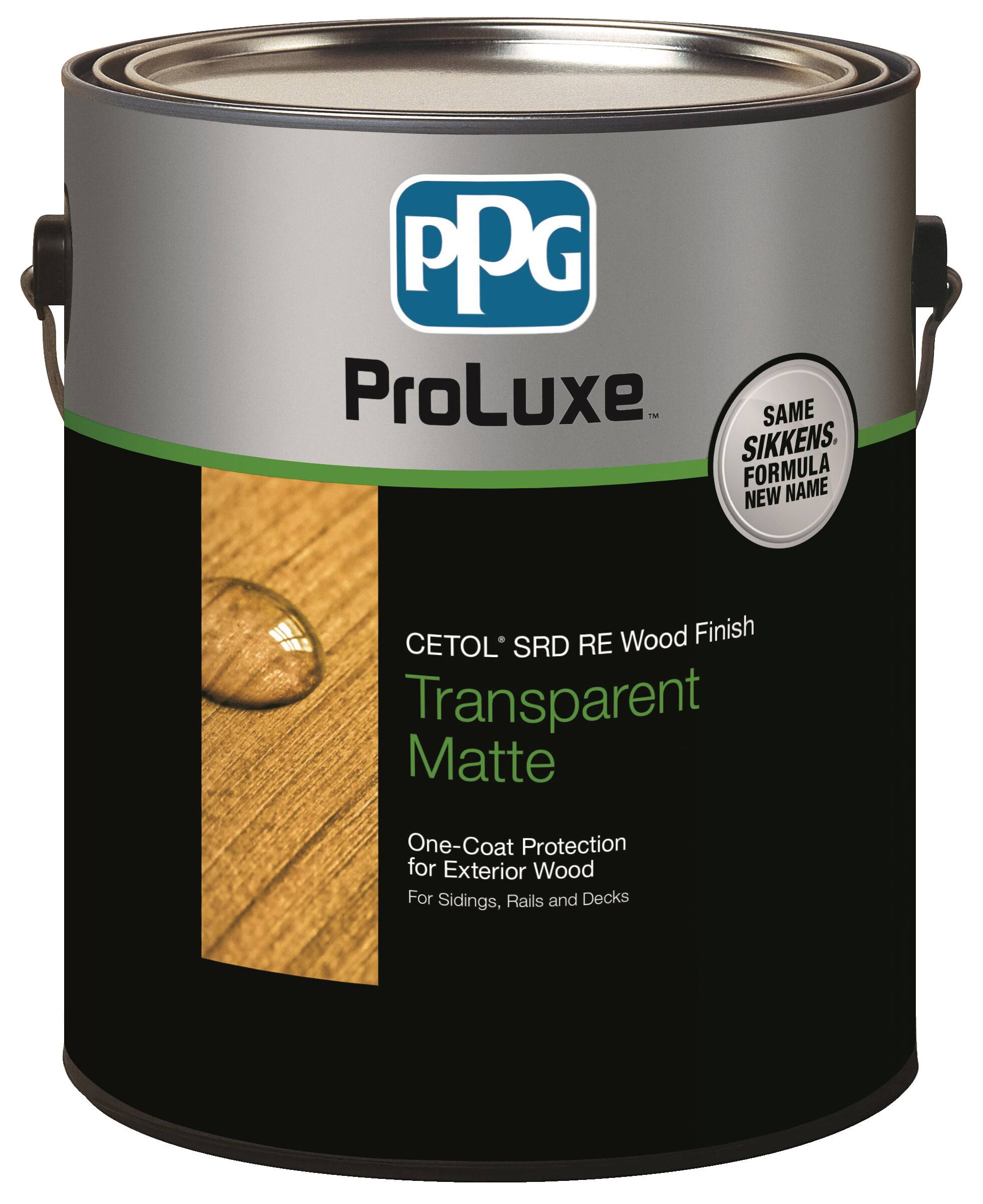 Sikkens ProLuxe Cetol SRD RE Exterior Wood Finish - Mahogany, 1gal