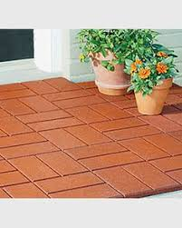 outdoor rubber paver tiles patio outdoor pavers