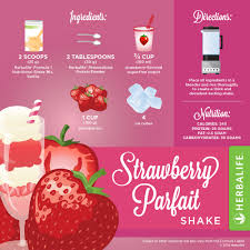 Pumpkin Spice Herbalife Shake Calories by Herbalife Strawberry Parfait Shake U2026 Pinteres U2026