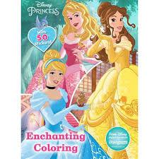 Disney Princess Enchanting Coloring Jumbo Book W 5 Stickers