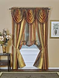 Waterfall Valance Curtain Set by Gorgeous Valances Window Treatments U2013 Ease Bedding With Style