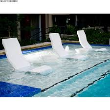 Lounge Chair Unnamed Pool Chairs In Water Large Size Of