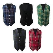 Tartanista Scottish Irish Tartan Waistcoats Vests