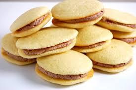 Gluten Free Vanilla Cake Sandwiches